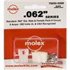 MOLEX KIT    .062 9 CIR; 1625-9PRT