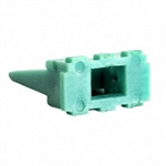 AW6P; 6 PIN RECEPTACLE WEDGE