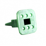 AW6S; 6 PIN PLUG WEDGE