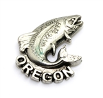 Oregon Salmon Magnet