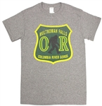 Bigfoot Forest Service Tee - Small - Dark Green