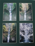 Multnomah Falls 4 Seasons Mat Photos