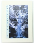 Multnomah Falls Winter Mat