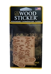 Wood Sticker