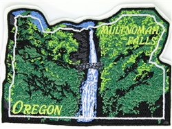 Multnomah Falls Peel & Stick Patch