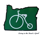 Oregon Bike Sticker