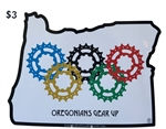 Oregonians Gear Up Sticker