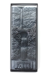 3-D Multnomah Falls Resin Plaque