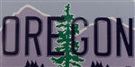 Oregon License Plate Sticker