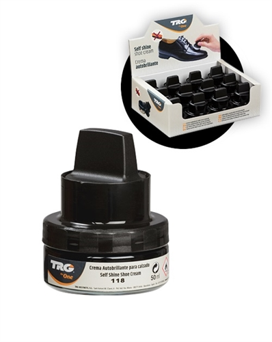 TRG shoe cream polish with applicator