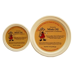 Angelus Mink Oil Tub - 8 oz.