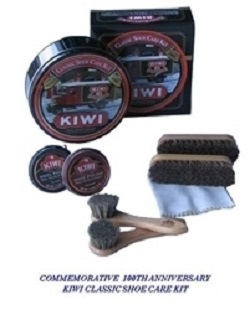 (Rare) KIWI Shoe Care Kit 100TH ANNIVERSARY (Limited Edition Tin)
