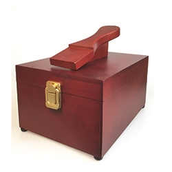 Deluxe Valet Shoe Shine Box (Empty)