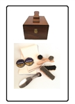 Saphir Loaded Shoe Shine Valet Kit