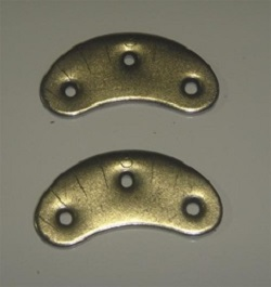 Metal Heel Savers ( 1 Pair)