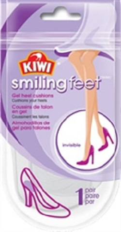 Kiwi Fresh Smiling Feet Gel Heel Cushions