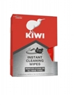 Kiwi Instant Cleaning Wipes, 12 Wipes, 4.7 in x 5.9 in