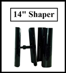 "1 Pair Black Compact Boot Shaper / Tree (14"" Height)"