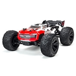 ARRMA RC CAR ... KRATON 4X4 4S BLX RTR RED 1/10