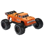 ARRMA RC CAR ... OUTCAST 6S 4WD BLX STUNT TRUCK MATTE ORANGE 1/8