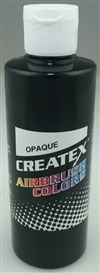 CREATEX COLORS ... AB OPAQUE BLACK  32 oz.