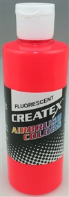 CREATEX COLORS 540832... AB FLUORESCENT RED 32 oz.