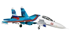 E-FLITE ... SU-30 TWIN 70MM EDF BNF BASIC W/AS3X & SAFE SELECT