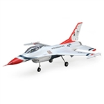 E-FLITE ... F-16 THUNDERIRD 70mm EDF BNF BASIC W/AS3X AND SS