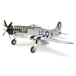 E-FLITE ... P-51D MUSTANG 1.2M BNF BASIC W/AS3X AND SS