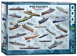 EUROGRAPHICS PUZZLES 3... PUZZLE WW II WARSHIPS 1000PC