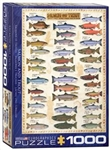EUROGRAPHICS PUZZLES 1... PUZZLE SALMON & TROUT 1000PC