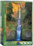 EUROGRAPHICS PUZZLES 6... PUZZLE MULTNOMAH FALLS OREGON 1000PC
