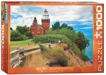 EUROGRAPHICS PUZZLES 1... PUZZLE BIG BAY LIGHTHOUSE MICHIGAN 1000PC