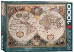 EUROGRAPHICS PUZZLES 7... PUZZLE ORBIS GEOGRAPHICA WORLD MAP 1000PC
