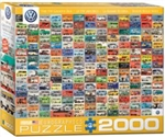 EUROGRAPHICS PUZZLES 3... PUZZLE THE VW GROOVY BUS 2000PC