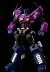 FLAME TOYS ... SHATTERED GLASS OPTIMUS PRIME