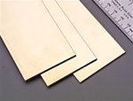 "K&S METAL PRODUCTS 249... BRASS STRIPS .064X2 12"" LG."