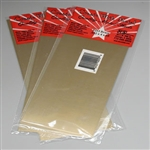 "K&S METAL PRODUCTS 253... BRASS SHEET .032X4 12"" LG."