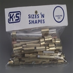 K&S METAL PRODUCTS ... ASSORTED BR,ALUM & COPPER