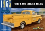 MOEBIUS ... FORD '65 F-100 W/UTILITY SERVICE TRUCK 1:25
