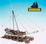 MODEL SHIPWAYS ... ARMED VIRGINIA SLOOP 1768 1/48