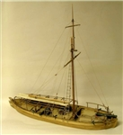 MODEL SHIPWAYS ... GUNBOAT PHILADELPHIA 1776 1/24