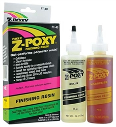 PACER GLUES ... Z-POXY FINISHING RESIN