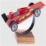 PINE CAR ... RACER DISPLAY STAND