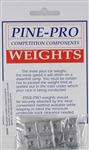 PINE-PRO CARS ... SQUARE WEIGHT