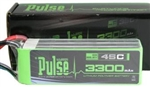 PULSE BATTERY ... LIPO 3300mah 22.2V 45C 6S