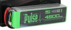 PULSE BATTERY ... LIPO 4500MAH 6-CELL 22.2V 45C