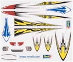 REVELL Y8676... PEEL & STICK DECAL D