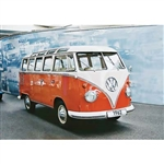REVELL GERMANY ... VW TYP 2 T1 SAMBA BUS 1/16
