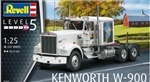 REVELL GERMANY ... KENWORTH W900 TRACTOR CAB 1/25